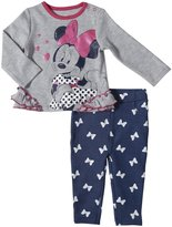 Disney 2 Piece Jegging Set (Baby) - Gray Heather-0-3 Months