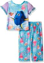 Disney Girls' Finding Dory True Friends 2-Piece Pj Set