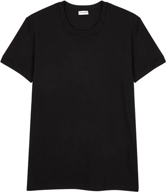 Dolce & Gabbana Black cotton-blend T-shirt
