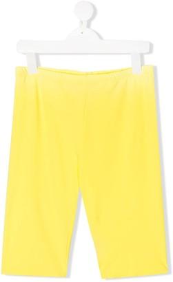 Il Gufo TEEN plain knee-length shorts