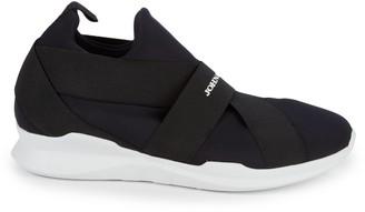 John Galliano Banded Slip-On Sneakers