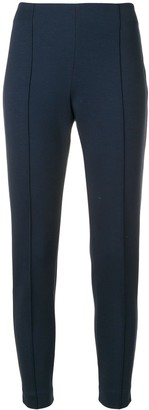 Le Tricot Perugia Cropped Slim-Fit Trousers