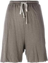 Rick Owens Lilies jersey tie-waist shorts - women - Cotton/Polyamide/Viscose - 40
