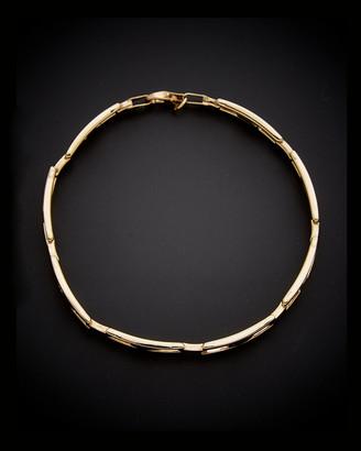 Italian Gold 14K H Link Bracelet