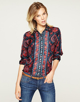 Lucky Brand Joan Scarf Blouse*