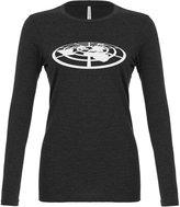 Indica Plateau Womens Flat Earth Society Long Sleeve T-Shirt