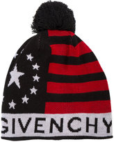 Givenchy - stars and stripes bobble hat - men - Acrylic/Wool - One Size