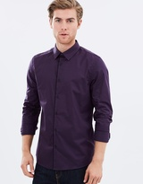 LS Plum Shirt