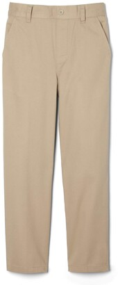 French Toast Big Boys' Relaxed Fit Pull-on Twill Pant
