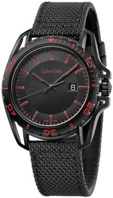 Calvin Klein Earth Watch with Textile Bracelet