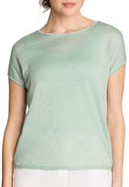 Nic+Zoe PETITE Every Day Linen-Blend Tissue Tee