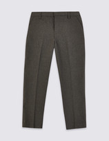 Marks and Spencer Boys Slim Leg Plus Fit Trousers