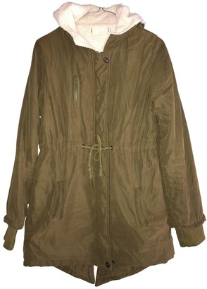 Green Cotton Non Signé / Unsigned Non Signe / Unsigned Coat for Women