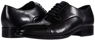 Ecco Vitrus Mondial Cap Toe Tie (Black) Men's Shoes
