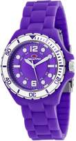 Seapro Women's Spring 36mm Silicone Band Steel Case Quartz Watch Sp3216
