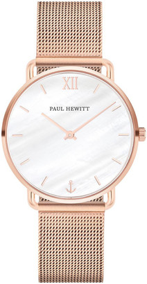 Paul Hewitt PH-M-R-P-4S Miss Ocean Line Rose Gold Watch