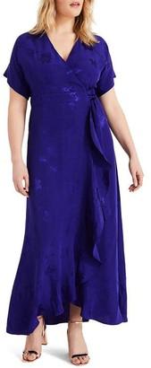 Studio 8 Phoebe Wrap Jacquard Maxi Dress