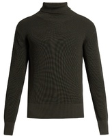 Lemaire Roll-neck wool sweater