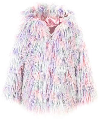 Fabulous Furs Faux Fur Hooded Coat, Size XXS-L