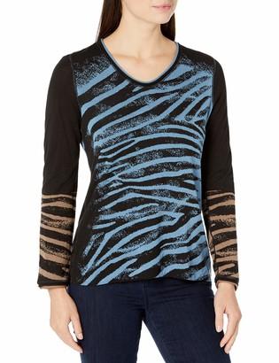 Nic+Zoe Women's Wild Side Reversible Sweater
