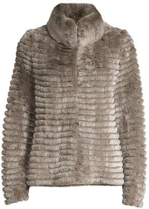 Glamour Puss Rex Rabbit Fur Jacket