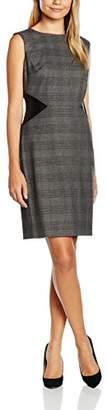 Tahari ASL Women's Elaine Pencil Checkered Sleeveless Dress,8 (Manufacturer Size:4)