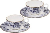 Noritake Sorrentino Cup and Saucer Blue Set of 2