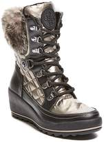 GUESS Women's Leland Wedge Snow Bootie