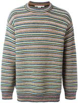 Stella McCartney striped crew neck jumper