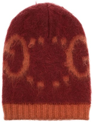 Gucci GG intarsia-knit beanie