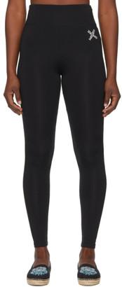 Kenzo Black Sport Logo Leggings