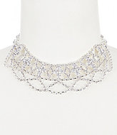 Cezanne Deco Rhinestone Choker Necklace