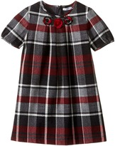 Dolce & Gabbana Back to School Multicheck Dress (Toddler/Little Kids)