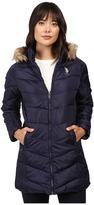 U.S. Polo Assn. Faux Fur Trimmed Parka Jacket