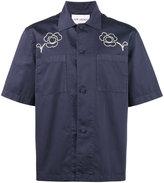 Our Legacy Splash floral short sleeve shirt