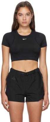 Nike Black Pro AeroAdapt T-Shirt