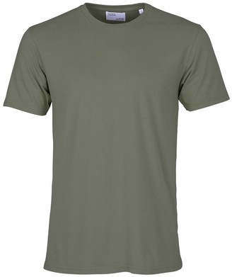 Colorful Standard - COLORFUL STANDARD OLIVE UNISEX ORGANIC TEE - SMALL