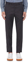 Paul Smith Men's Gingham Wool Twill Slim Trousers