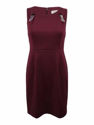 Kasper Women's Petite Ponte Sheath Dress