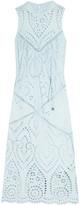 Zimmermann Epoque broderie anglaise cotton midi dress