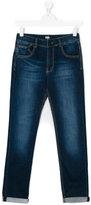 Karl Lagerfeld faded jeans