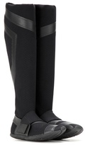 Y-3 Sport Compression Sock Fabric Knee-high Boots