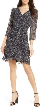 Sam Edelman Ditzy Floral Ruched Dress