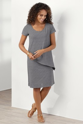 Soft Surroundings Leah Layered Dress