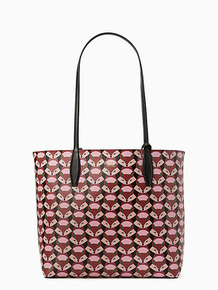 Kate Spade Out Of The Woods Geofox Large Reversible Tote