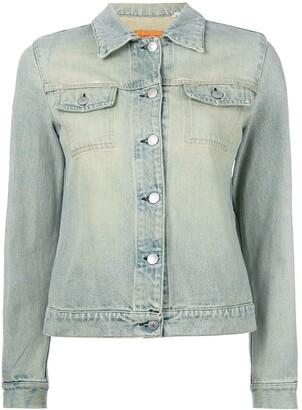 Helmut Lang Pre-Owned stoned wash denim jacket