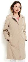 Lands' End Women's Petite Coastal Rain Coat with Removable Liner-Warm Khaki