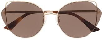 McQ Cat-Eye Frame Sunglasses