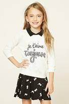 Forever 21 FOREVER 21+ Girls French Sweater (Kids)