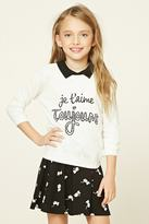 Forever 21 Girls French Sweater (Kids)